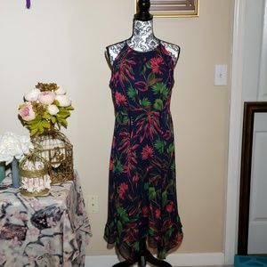 Just Taylor... tropical floral dress